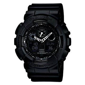 Pánské hodinky CASIO G-SHOCK GA 100-1A1 (4971850443865) + ZDARMA Elektronický časopis Exkluziv - aktuální vydání od ALZY Elektronický časopis Interview - aktuální vydání od ALZY