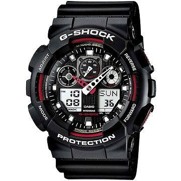 Pánské hodinky CASIO G-SHOCK GA 100-1A4 (4971850443940) + ZDARMA Elektronický časopis Exkluziv - aktuální vydání od ALZY Elektronický časopis Interview - aktuální vydání od ALZY