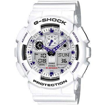 Pánské hodinky CASIO G-SHOCK GA 100A-7A (4971850443780) + ZDARMA Elektronický časopis Exkluziv - aktuální vydání od ALZY Elektronický časopis Interview - aktuální vydání od ALZY