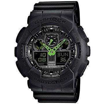 Pánské hodinky CASIO G-SHOCK GA 100C-1A3 (4971850981299)