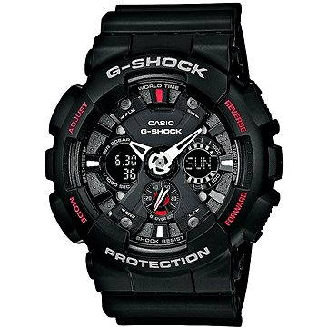 Pánské hodinky CASIO G-SHOCK GA 120-1A (4971850948490) + ZDARMA Elektronický časopis Exkluziv - aktuální vydání od ALZY Elektronický časopis Interview - aktuální vydání od ALZY