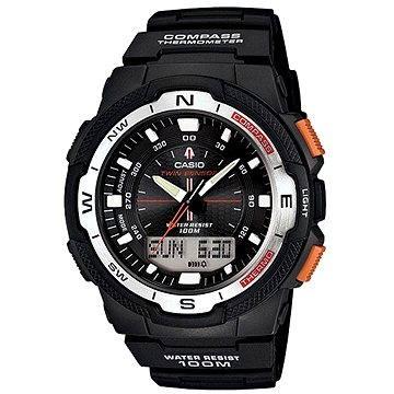 Pánské hodinky Casio SGW 500H-1B (4971850975939) + ZDARMA Elektronický časopis Exkluziv - aktuální vydání od ALZY Elektronický časopis Interview - aktuální vydání od ALZY
