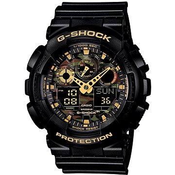 Pánské hodinky CASIO G-SHOCK GA 100CF-1A9 (4971850995005) + ZDARMA Elektronický časopis Exkluziv - aktuální vydání od ALZY Elektronický časopis Interview - aktuální vydání od ALZY