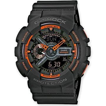 Pánské hodinky CASIO G-SHOCK GA 110TS-1A4 (4971850988922) + ZDARMA Elektronický časopis Exkluziv - aktuální vydání od ALZY Elektronický časopis Interview - aktuální vydání od ALZY