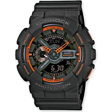CASIO G-SHOCK GA 110TS-1A4 (4971850988922)