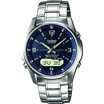 Pánské hodinky Casio LCW M100DSE-2A (4971850925460) + ZDARMA Stříbrná pamětní mince Alza pamětní stříbrňák 20 let Alza.cz 1/2 Oz, hmotnost 16g