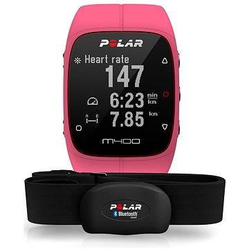 Sporttester Polar M400 HR Pink (725882027685)