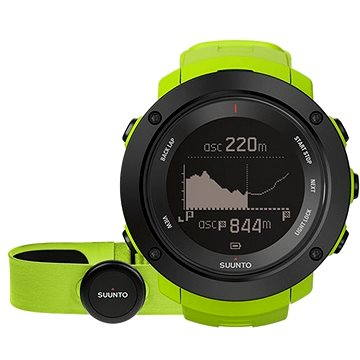 Sporttester SUUNTO AMBIT3 VERTICAL Lime HR (SS021970000)