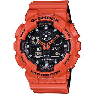Pánské hodinky Casio GA 100L-4A (4549526125348)