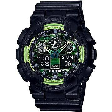 Pánské hodinky Casio GA 100LY-1A (4549526120237) + ZDARMA Stříbrná pamětní mince Alza pamětní stříbrňák 20 let Alza.cz 1/2 Oz, hmotnost 16g