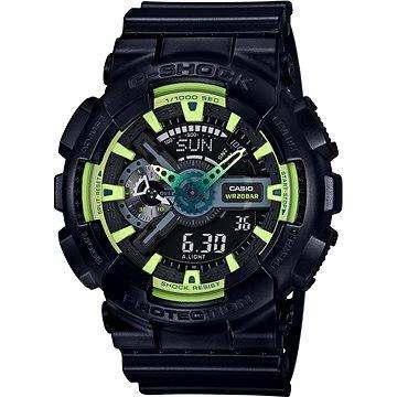 Pánské hodinky Casio GA 110LY-1A (4549526120381) + ZDARMA Stříbrná pamětní mince Alza pamětní stříbrňák 20 let Alza.cz 1/2 Oz, hmotnost 16g