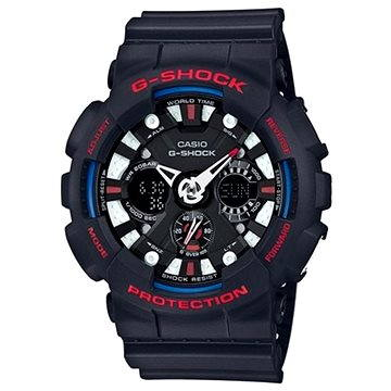 Pánské hodinky Casio GA 120TR-1A (4549526116834) + ZDARMA Stříbrná pamětní mince Alza pamětní stříbrňák 20 let Alza.cz 1/2 Oz, hmotnost 16g