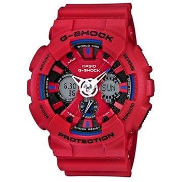 Pánské hodinky Casio GA 120TR-4A (4549526116889) + ZDARMA Stříbrná pamětní mince Alza pamětní stříbrňák 20 let Alza.cz 1/2 Oz, hmotnost 16g