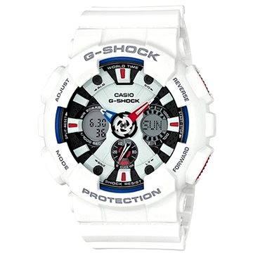 Pánské hodinky Casio GA 120TR-7A (4549526116933) + ZDARMA Stříbrná pamětní mince Alza pamětní stříbrňák 20 let Alza.cz 1/2 Oz, hmotnost 16g