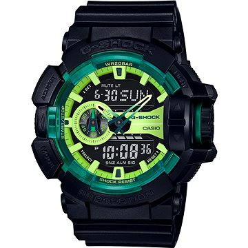 Pánské hodinky Casio GA 400LY-1A (4549526120480) + ZDARMA Stříbrná pamětní mince Alza pamětní stříbrňák 20 let Alza.cz 1/2 Oz, hmotnost 16g