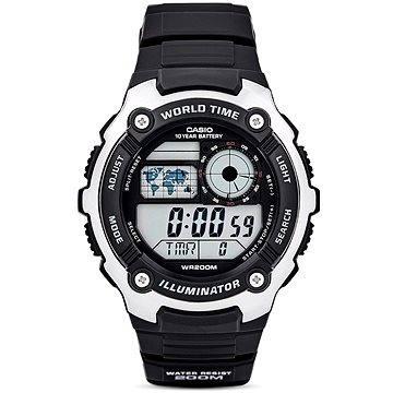 Pánské hodinky Casio AE 2100W-1A (4971850027058) + ZDARMA Elektronický časopis Exkluziv - aktuální vydání od ALZY Elektronický časopis Interview - aktuální vydání od ALZY