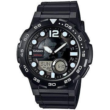 Pánské hodinky CASIO AEQ 100W-1A (4549526112294) + ZDARMA Elektronický časopis Exkluziv - aktuální vydání od ALZY Elektronický časopis Interview - aktuální vydání od ALZY