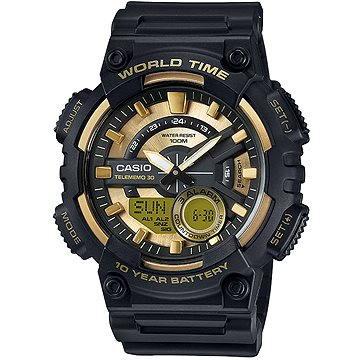 Pánské hodinky CASIO AEQ 110BW-9A (4549526112447) + ZDARMA Elektronický časopis Exkluziv - aktuální vydání od ALZY Elektronický časopis Interview - aktuální vydání od ALZY