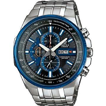 Pánské hodinky Casio EFR 549D-1A2 (4971850028888) + ZDARMA Elektronický časopis Exkluziv - aktuální vydání od ALZY Elektronický časopis Interview - aktuální vydání od ALZY