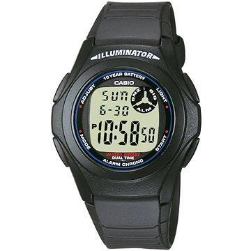 Pánské hodinky CASIO F 200 (4971850746102) + ZDARMA Elektronický časopis Exkluziv - aktuální vydání od ALZY Elektronický časopis Interview - aktuální vydání od ALZY