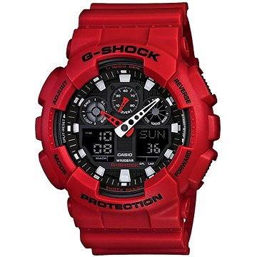 Pánské hodinky CASIO G-SHOCK GA 100B-4A (4971850948339) + ZDARMA Elektronický časopis Exkluziv - aktuální vydání od ALZY Elektronický časopis Interview - aktuální vydání od ALZY
