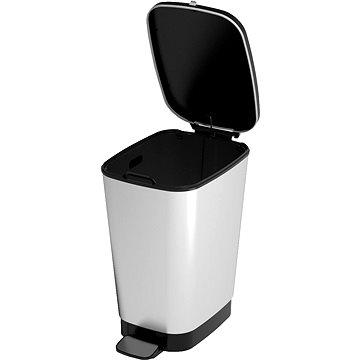 Odpadkový koš KIS Koš na odpad Chic Bin M - Steel 35l (080718STEEL)