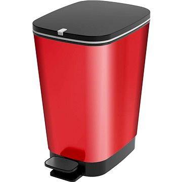 Odpadkový koš KIS Koš na odpad Chic Bin M - Metal Red 35l (080718REDMETAL)