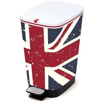 Odpadkový koš KIS Koš na odpad Chic Bin M Union Jack 35l (80718002005)