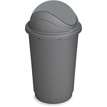 KIS Koš na odpad Pivot - šedý 60l (80723000410)