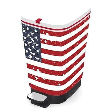 Odpadkový koš KIS Koš na odpad Chic Bin M - American Flag 35l (80718005000)
