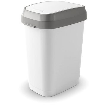 Odpadkový koš KIS Koš na odpad Dual Swing Bin M - bílý 25l (80760000623)