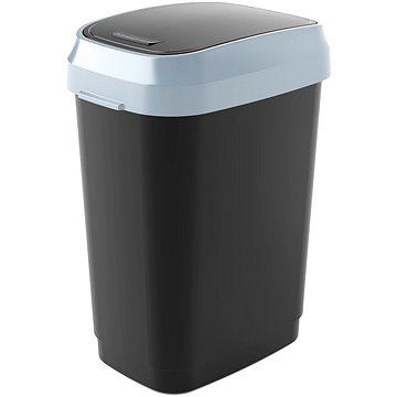 Odpadkový koš KIS Koš na odpad Dual Swing Bin M - černý 25l (80760000306)