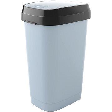 Odpadkový koš KIS Koš na odpad Dual Swing Bin L - šedý 50l (80770000307)