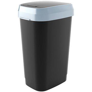 Odpadkový koš KIS Koš na odpad Dual Swing Bin L - černý 50l (80770000306)