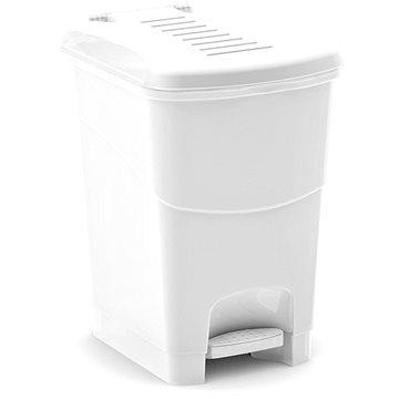 Odpadkový koš KIS Koš na odpad Koral Bin S - bílý 10l (080708WSGM)