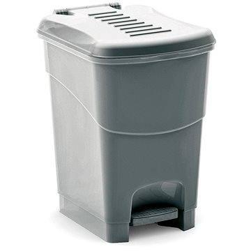 Odpadkový koš KIS Koš na odpad Koral Bin S- šedý 10l (080708GMGM)