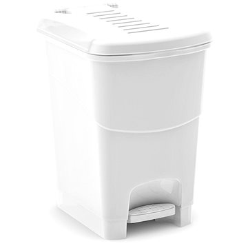 Odpadkový koš KIS Koš na odpad Koral Bin L, bílý 20l (080707WSGM)