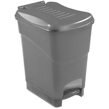 Odpadkový koš KIS Koš na odpad Koral Bin L - šedý 20l (080707GMGM)