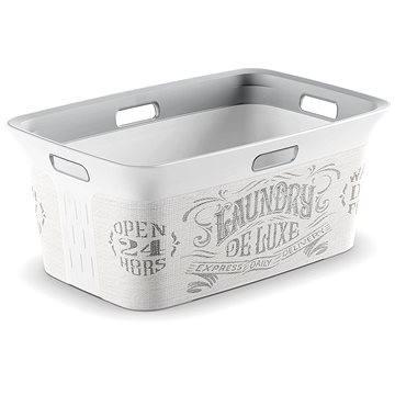 Koš na prádlo KIS Koš na prádlo Chic Basket Laundry Bag 45l (006709WHGLLB)