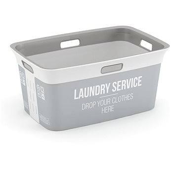 Koš na prádlo KIS Koš na prádlo Chic Basket Home service 45l (67090002002)