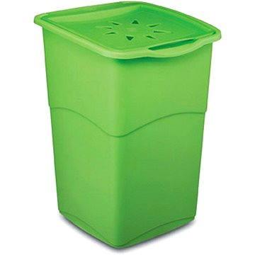 Koš na prádlo KIS Koš na špinavé prádlo Koral Basket - zelený 47l (006703VH)