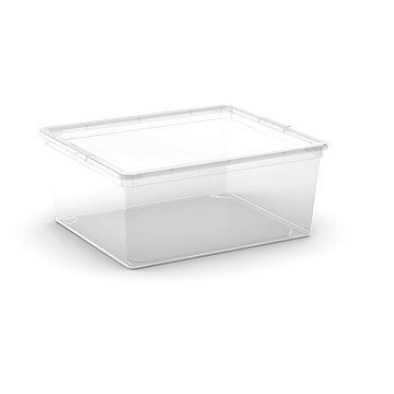 KIS C Box M - 18 l - transparentní (8404000020217)