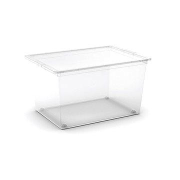 KIS C Box XL 50l - transparentní na kolečkách (008417WHTR)