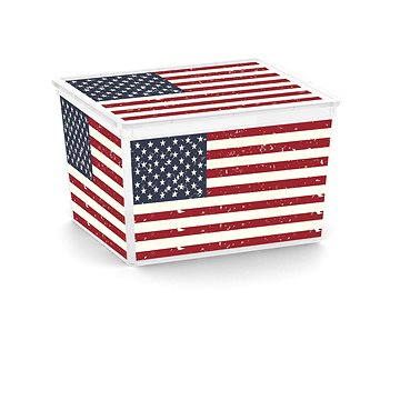 KIS C Box Style American Flag Cube 27l (84191002183)