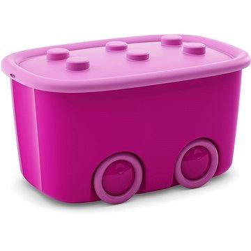 KIS Funny box L fialový 46l (008630CRSCRC)