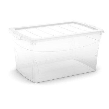 KIS Omnibox L transparentní 50l (008611WHTRS)