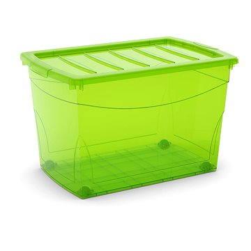 KIS Omnibox XL zelený 60l na kolečkách (008612LGTS)