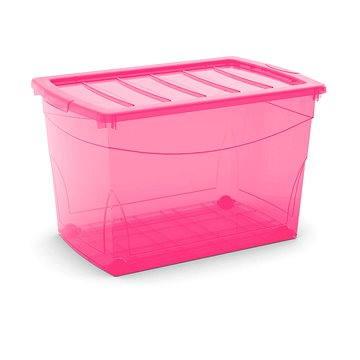 KIS Omnibox XL růžový 60l na kolečkách (86120000656)