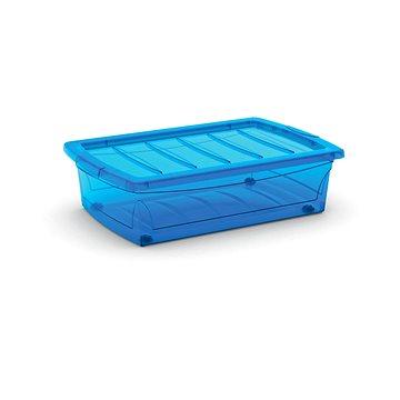 KIS Spinning Box M modrý 30l na kolečkách (008631TSTS)