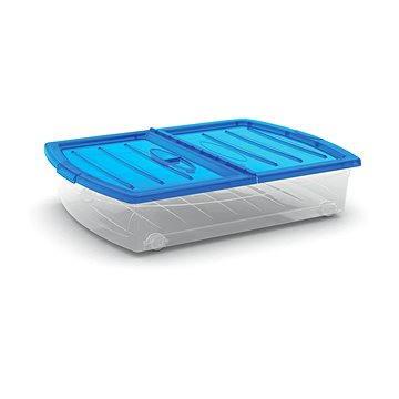 KIS Spinning Box XL modré víko 56l na kolečkách (008641WHTRTST)